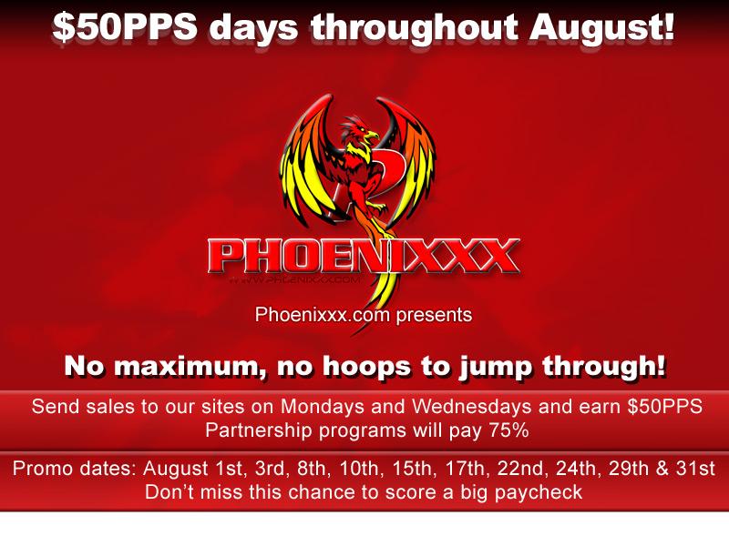 Phoenixxx.com Promo